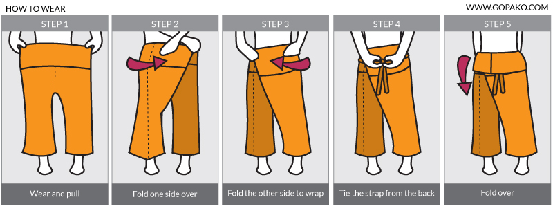 fishermans pants how to wear